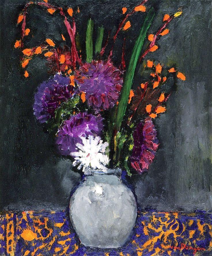 Bouquet of Flowers / Kees Van Dongen - circa 1910