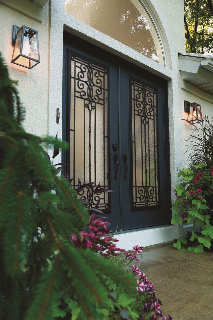 Quot Veranda Quot Wroughtiron Decorative Door Glass Old World