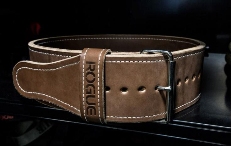 Rogue Ohio Lifting Belt - Weightlifting - Vegetable Tanned Leather