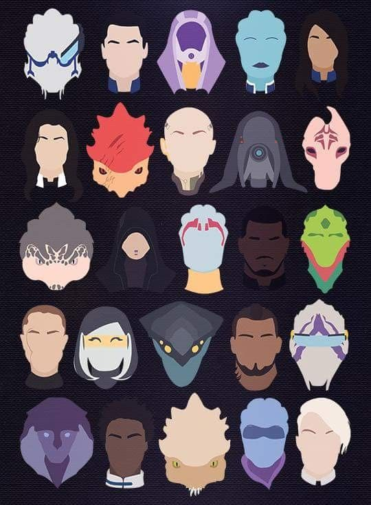 Cool design of the squad (With Andromeda included!)