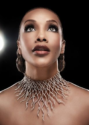 American actress and television producer Vivica A. Fox