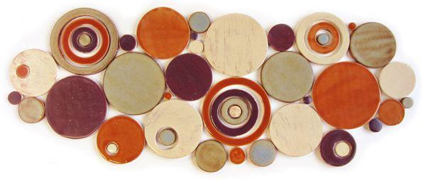 Handmade Bubbles Mosaic Tile from Mercury Mosaics: Color Palettes, Handmade Bubbles, Bubbles Mosaic, Mercury Mosaics, Mosaics Brown, Bubble Clouds, Mosaic Tiles