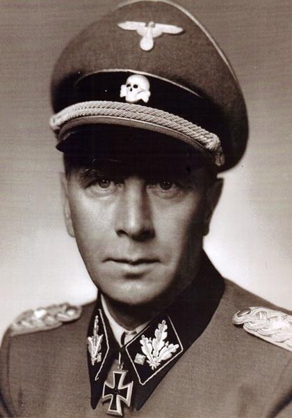 SS-Obergruppenführer and Waffen-SS General Wilhelm Bittrich.