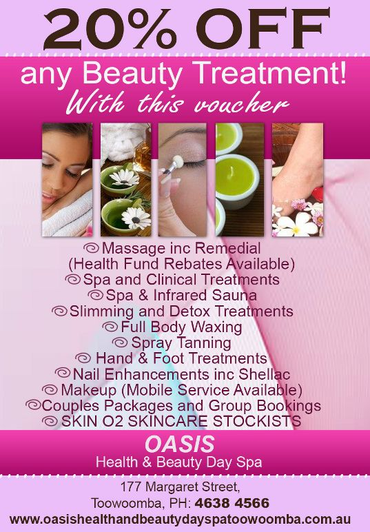 day spa toowoomba special