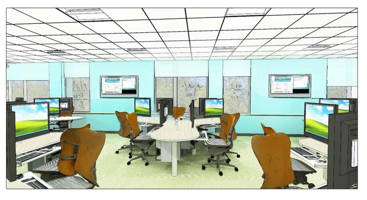computer lab learning space design - Google Search