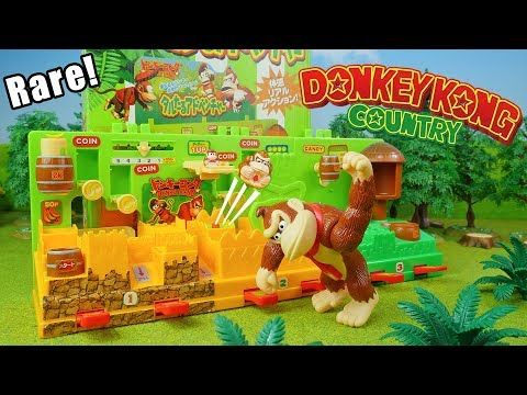 53eb1550ce5 Donkey Kong Country Barrel Adventure