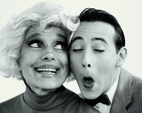 Carol Channing and Pee Wee Herman
