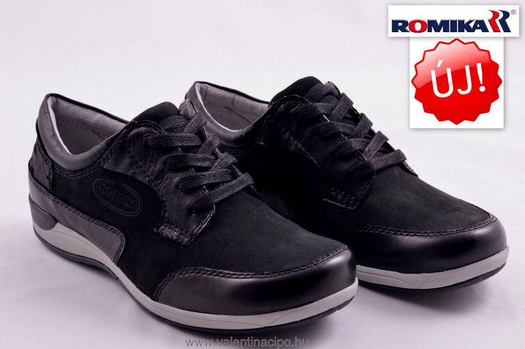 Romika női fekete cipő, a Josef Seibel Referencia Szaküzletben és Webáruházunkban!  http://valentinacipo.hu/46306-42-100  #romika #romika_webshop  