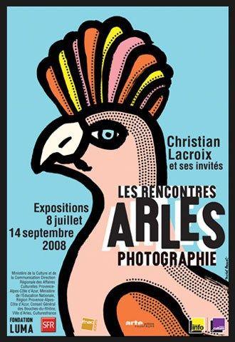 Michel Bouvet un graphiste spécialiste de l affiche - arles 2008