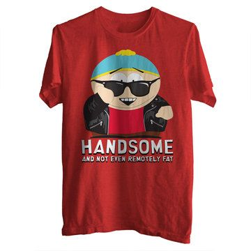 Handsome Cartman Tee Mens, $19.50, now featured on Fab.