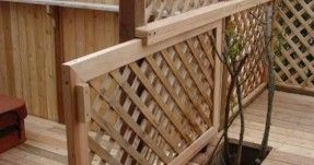 Sliding Gate for the Deck.would be great with pets