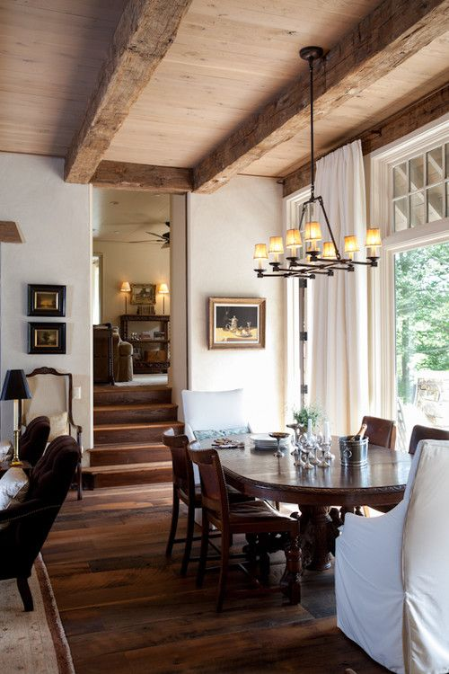 kitchen curtains    'Equestrian lifestyle' in North Carolina. Kate Jackson Design.