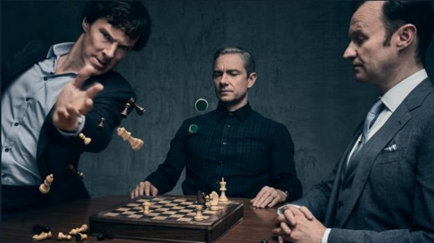 Sherlock series 4 promo shot