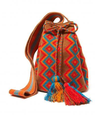 Tan Multi Cartagena Mochila Bag