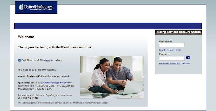 United Healthcare Bill Pay Online, Login, Customer Service ...
