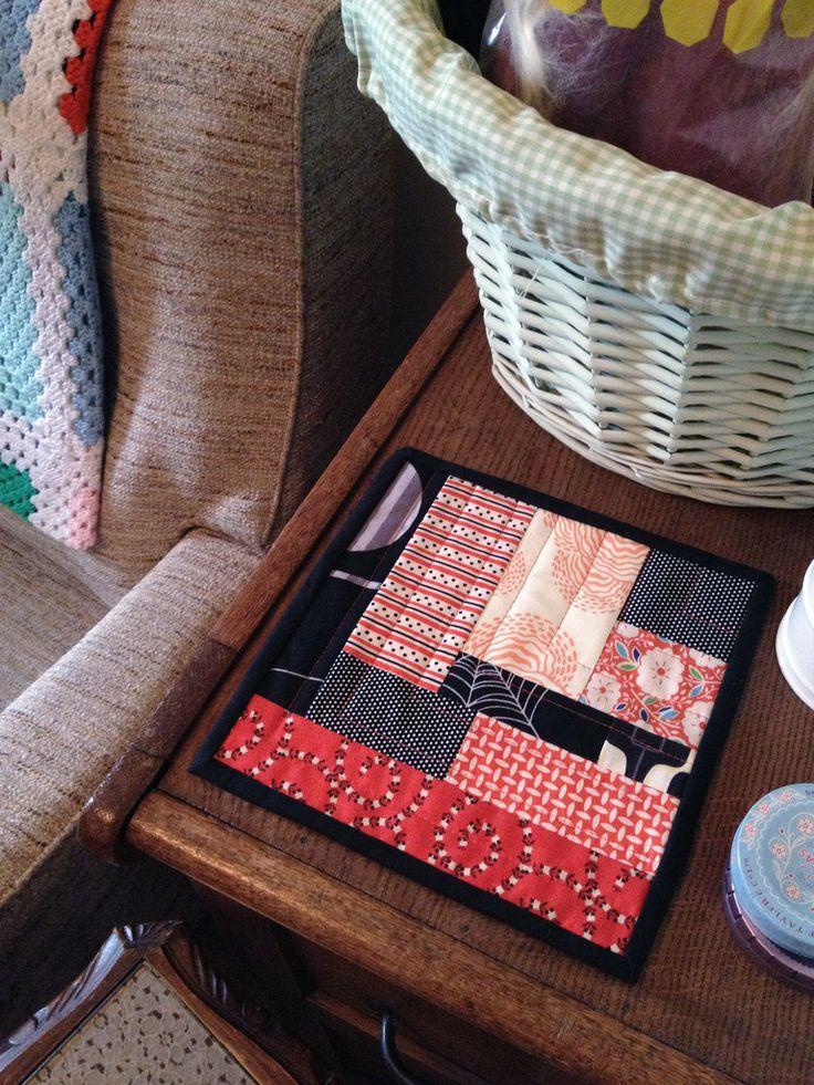 All sizes | Halloween mug rug | Flickr - Photo Sharing!