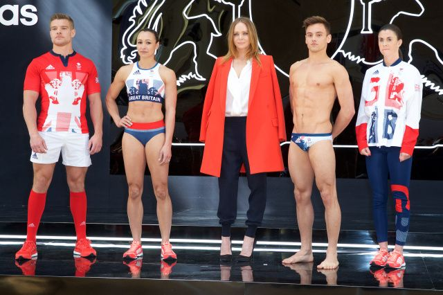 Stella McCartney Adidas Reveal Uniforms for Britains Olympic Athletes