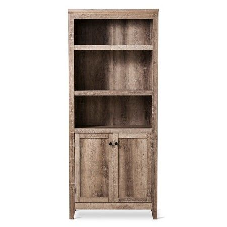 Carson 5-Shelf Bookcase with Doors -Threshold™