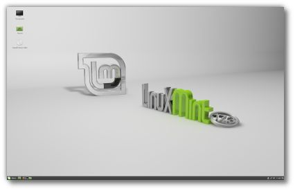Linux Mint is a snappy and popular choice for older or less capable desktop hardware users.