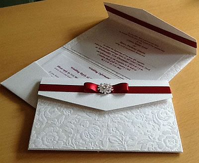 diy winter wedding invitations