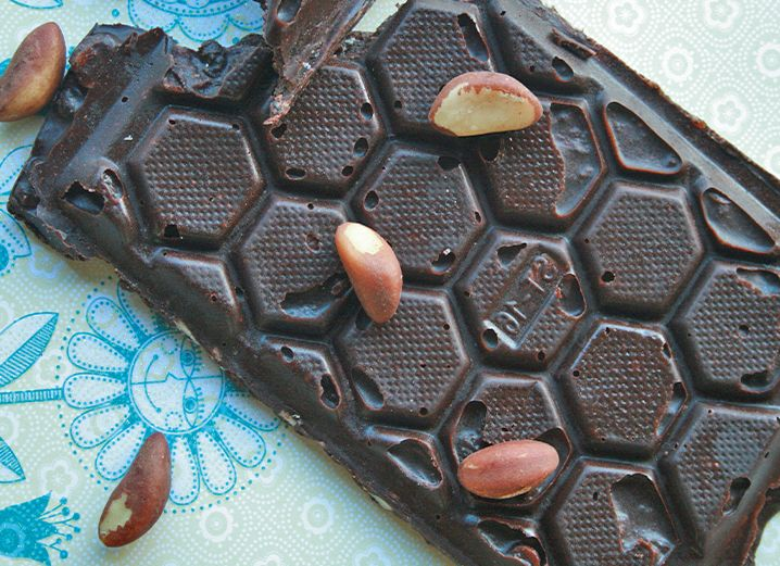 Check out our favorite raw chocolate recipe plus a delicious chocolate giveaway.