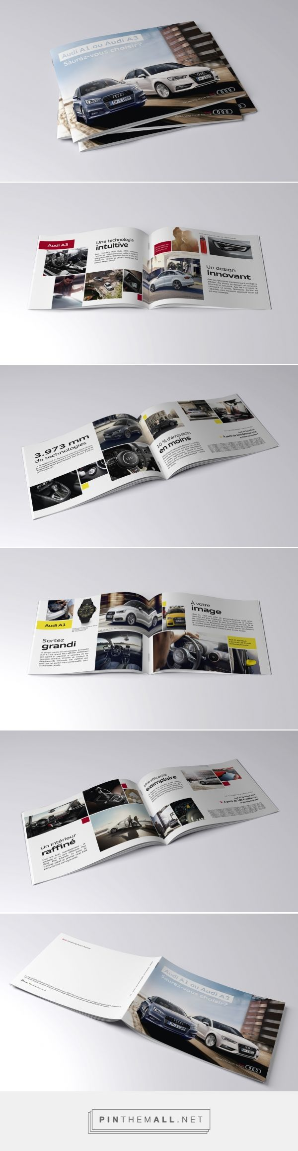 Brochure // Audi | Pauline Gueuning, Graphic designer http://enylua.webaction.be