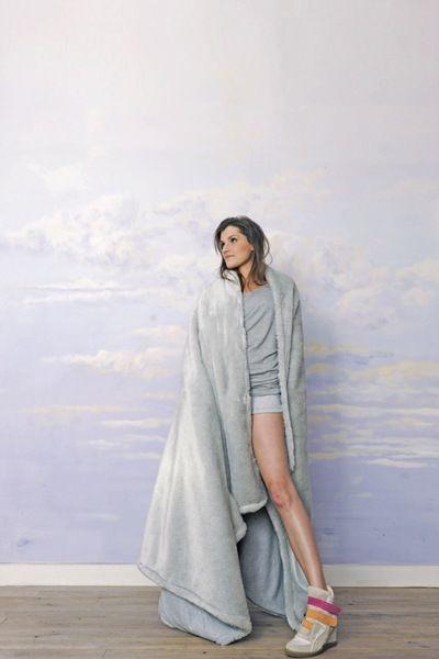 GIRLIE BLANKET w RISK made in warsaw na DaWanda.com