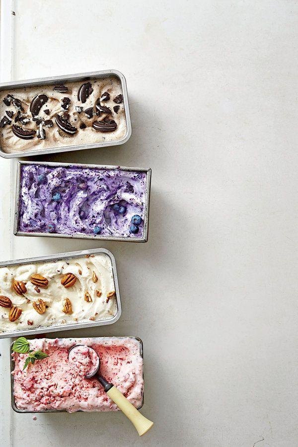 Strawberry-Basil Ice Cream - Homemade Ice-Cream Recipes