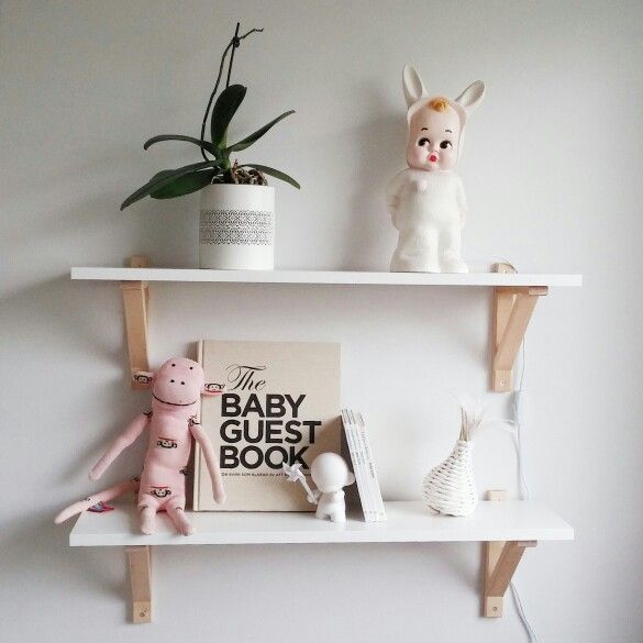 Babys room, ikea shelfs, Lapin&Me, paul frank, Scandinavian interior, kids room