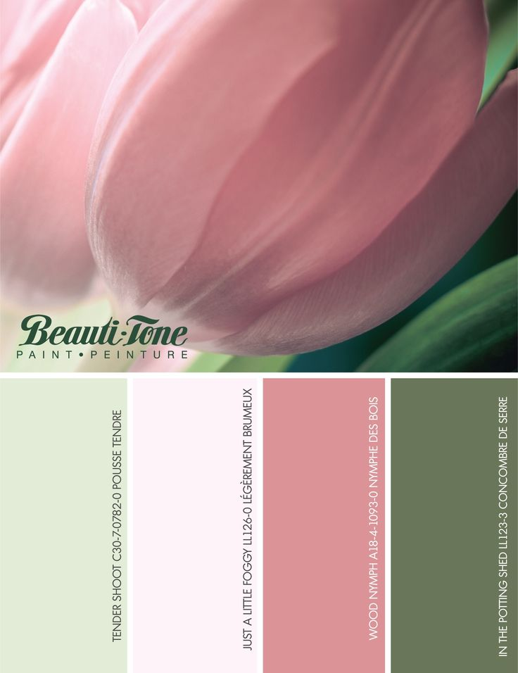 After a long and cold winter, set the mood for #spring with these warm and cheery complementary #colours from #BeautiTone.