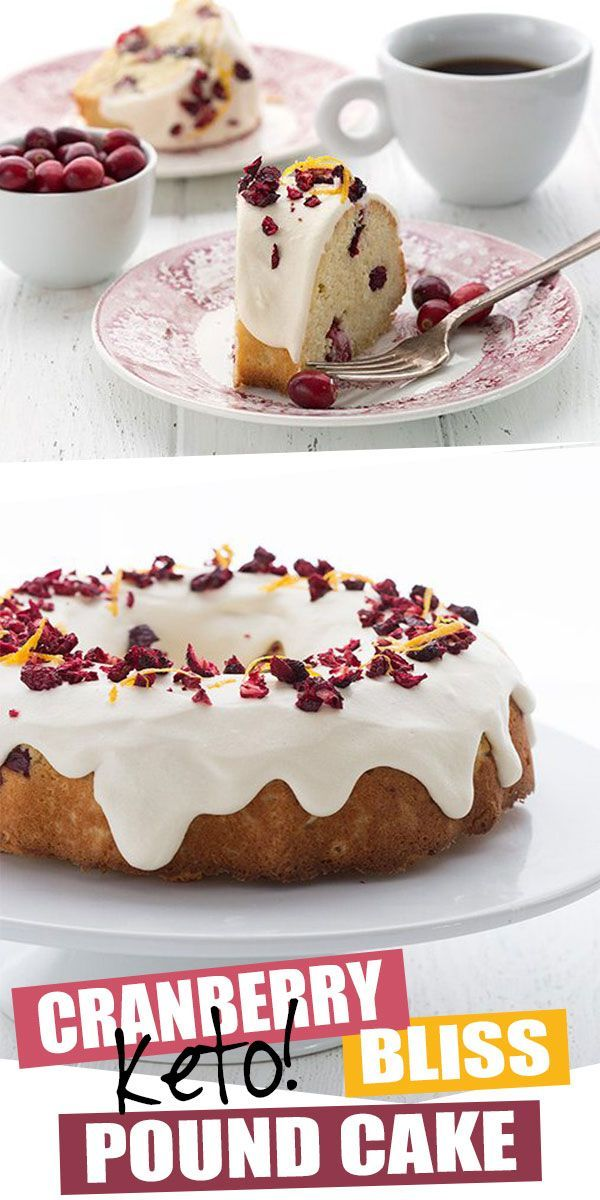 All the best flavors of the season with far less carbs! This stunning Keto Cranberry Bliss Pound Cake is studded with fresh berries and has a wonderfu…