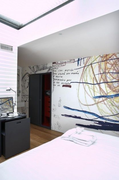 Twentyone Hotel's Loft Suite provides the best accommodation, combining perfectly  urban and artistic atmosphere!