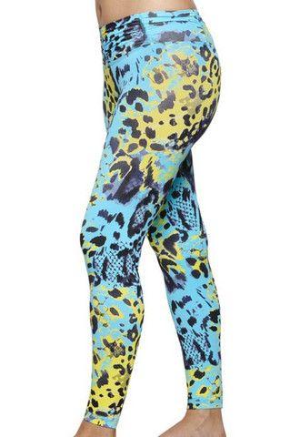 Leggings FL Amni Ocean Leopard | Brasilfit South Africa | Style IQ 2013