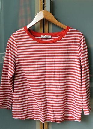 Kup mój przedmiot na #vintedpl http://www.vinted.pl/damska-odziez/bluzki-z-3-slash-4-rekawami/10643784-bluzka-w-paski-basic-zara