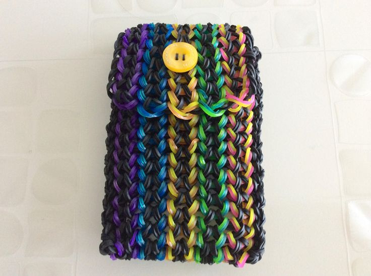 Mini Purse Wristlet Tutorial Craft LifeRainbow Loom Mini Purse Craft Life