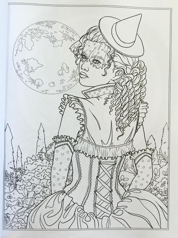www.amazon.com review reviews-lightbox   Witch coloring pages
