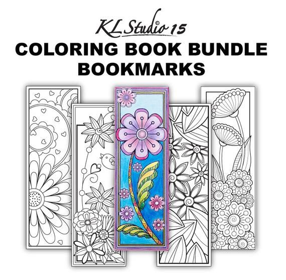 Stained Glass Coloring Book Markers