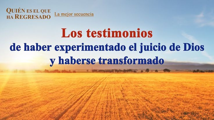 (VIII) - Los testimonios de haber experimentado el juicio de Dios y habe...