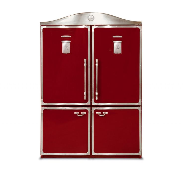 Vintage styled refrigerators with modern energy efficient technology from Restart srl (Italy).