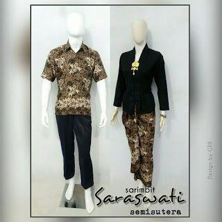 Baju Batik Kerja Wanita, Grosir Batik Solo, Baju Batik Pria: Sarimbit Rok Lilit, Sarimbit Batik Murah, Baju Sar...