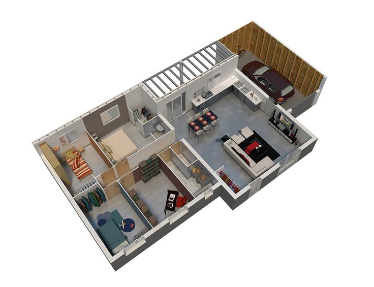 14 best Plans images on Pinterest Floor plans, House floor plans - prix construction maison 150m2