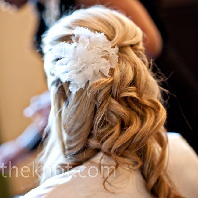 Wedding Hairstyle Ideas : Tousled Bridal Hairstyle
