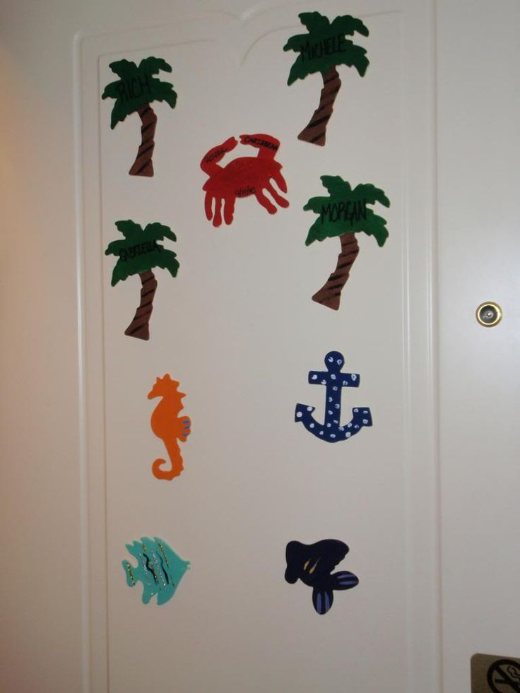 17 best images about door decor cruise ship on pinterest for Sejour design decoration