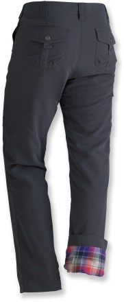 Marmot Piper Flannel Lined Pants - Women's Perfect for a little snowshoeing up by Bogus Basin. No longer available at REI but still on other sites.