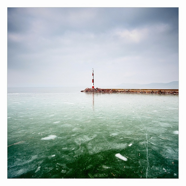 Balaton in winter