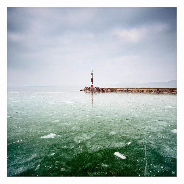 Balaton in winter