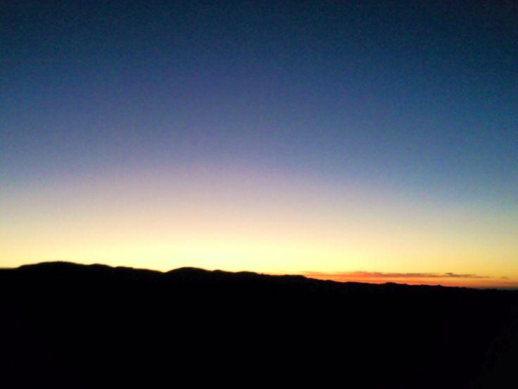 Sunset or sunrise? Half full or half empty?