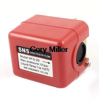 $21.84 (Buy here: https://alitems.com/g/1e8d114494ebda23ff8b16525dc3e8/?i=5&ulp=https%3A%2F%2Fwww.aliexpress.com%2Fitem%2FHFS-20-3-4-PT-Liquid-Flow-Control-10-Bars-Pressure-Switch-SPDT-1-100C-Temperatur%2F1807208185.html ) HFS-20 3/4 PT Liquid Flow Control 10 Bars Pressure Switch SPDT 1-100C Temperatur for just $21.84