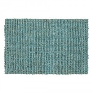 Jute rug with latex backing