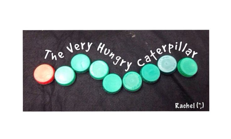 A variety of activities related to The Very Hungry Caterpillar in an Early Years classroom.
